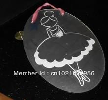 2013 hot selling 50CM fashional oval acrylic dress mirror wih bottom price (China (Mainland))