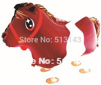 New arrive !!! 50pcs/lots wholesales walking pet balloon , Helium balloons , Horse styles , Children toys,promotional balloon