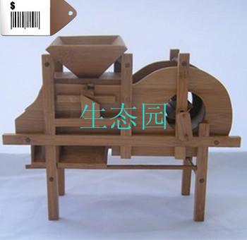 Bamboo crafts miniature furniture watertruck windmill mini farm equipment large
