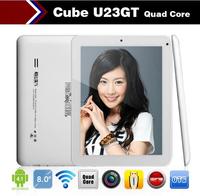 Cube U23GT 8 inch android tablet pc Rockchip RK3188 Quad Core 1.6GHz WIFI Webcam OTG HDMI