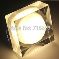 3 Watt LED Crystal Ceiling Light + Decorative LED Lamp + LED Indoor Light+20pcs/Lot+Free shipping