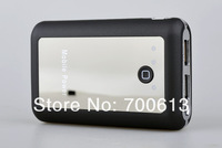 2013 new!Free shipping 8000mAh universal power bank charger for cell phone