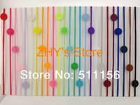 "20colors Free shipping 60pcs/lot 1/8"" Skinny Elastic Headband wiht 15mm Colorful Felt Pad for baby and children"