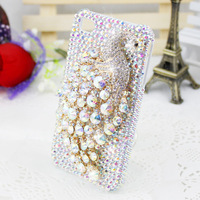 Free shipping New Hot Fashion Luxury crystal Case Cover for Apple iphone 4 4s iPhone 5 case