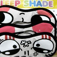 Z2362  eyeshade blindages cartoonsleeping eye mask black eye