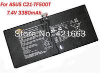 Original laptop battery for Asus EE Pad Transformer Pad TF500D  TF500 TF500T C21-TF500T CKSA32101