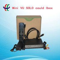 2013 Original New Model hot sellmini  VU+SOLO/  cloud ibox HD tv receiver free shipping