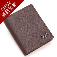 Male short design wallet broadened belt zipper 158 - 912 coffee