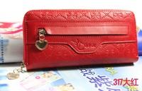 Female wallets long design wallet single women's wallet clutch women's wallet 2013