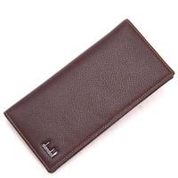 Dandel male wallet men's design cowhide long wallet coffee 273 - 916