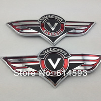 3D Gas Tank Sticker Emblem Badge Fuel Decals Fits For Kawasaki VN Vulcan Classic VN400 VN500 VN800 VN1500