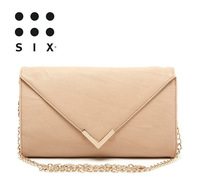 Free Shipping! 2013 summer new elegant chain envelope handbags unique women evening bag fashion