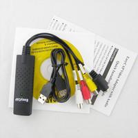 2013 EasyCAP USB 2.0 TV DVD VHS Video Audio AV Capture New Free Shipping