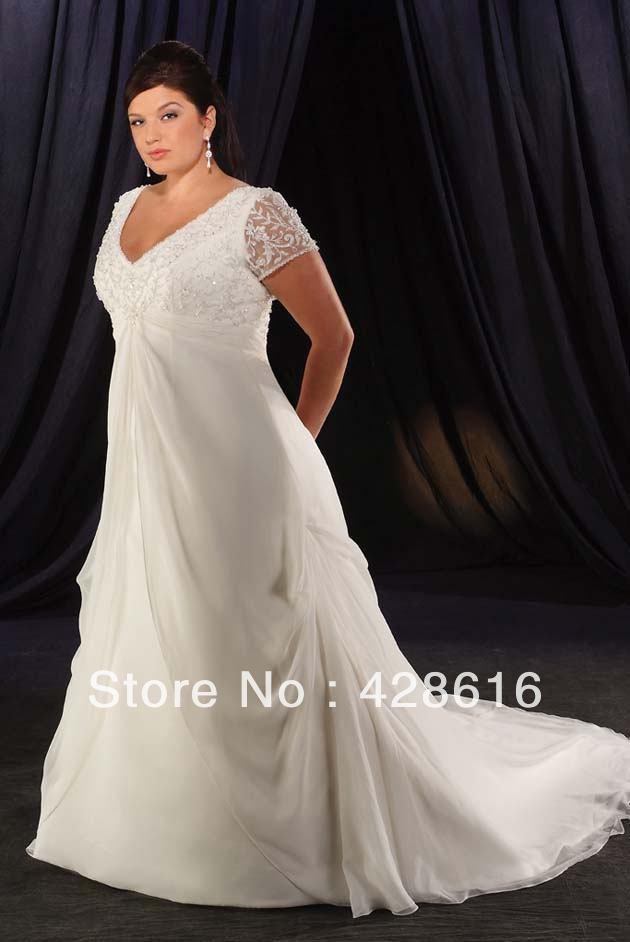 Plus size wedding dress loja barato plus size wedding for Wedding dresses in modesto ca