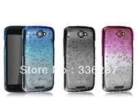 Hot sale IMAK raindrop back hard case for HTC One S cover, with retail package + screen protector/Megin
