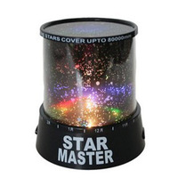 2013 Free Shipping Sky Star Constellation Projector LED Star Master Sound Asleep Lamp Night Light Black High Quality
