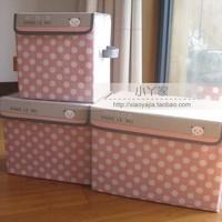 Free Shipping Derlook bear rustic storage box home storage box storage box baby toy storage basket