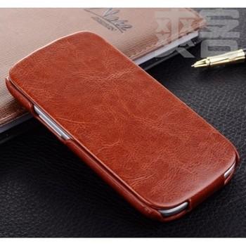 Fashion brand case for samsung S3 i9300 Galaxy leather case and for samsung i9308 really leather case dropshipping  free shiping
