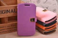 Fashion New PU Leather  Wallet ID Credit Card Case For Samsung Galaxy S3 Mini i8190