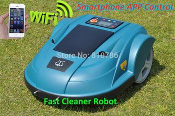 2014 Newest Third Generation Pressure Sensor,Time,Language, Subarea Setting Intelligent Garden Robot Mower