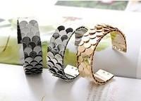 Alloy Bangle HJ-003 multi-colored scaly buckle bracelet, lady's favorite