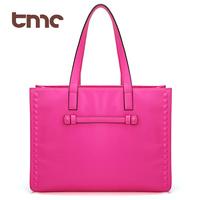 TMC Fashion Vintage Brief Fashion Motorcycle Rivet Handbag Shoulder Bag Female Bags Big Bag YL410