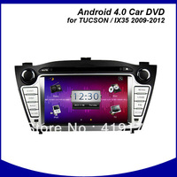Android car dvd/PC/GPS player for 2012 Hyundai IX35/TUCSON with 3G/WIFI/CANBUS,tucson android car dvd,hyundai android car dvd