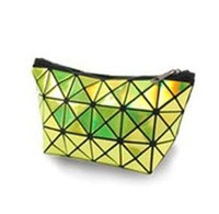 2013 Hologram Laser Cosmetic Bag Geometric Patern Handbag Multicolor Color Handbag Messenger Bag Free Shipping