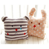 Free Shipping New arrival ant clown pear stripe polka dot rabbit cushion pillow