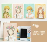 Blue Bai Stationery--Hot sale New style M12-23 Mori Girl Vintage paper notebook 109063