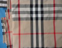 Fe1 Elastic elasticity cotton checked 100% Cotton tartan Lattice Plaid fabric cloth textile meter