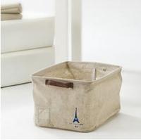 Zakka fluid fabric storage box magazine no cover storage box sundries finishing box storage box