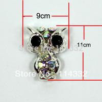 Factory  sales 50 pcs/ lot 3d nail art decorations uv Gel Nail 3d diy nail art alloy  nails The owl shape