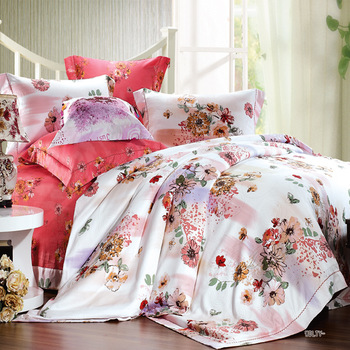 Big jacquard piece print bedding set