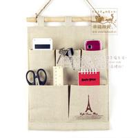 zakka fluid hanging bag storage bag ofhead storage bag for 2 pcs