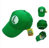 Super Mario Bros Brothers Green  Ball Hat Baseball Cap