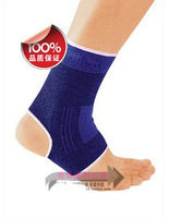 New Ankle support Ankle Pad Protection Elastic Brace Guard Support Sports Gym Blue Free Shipping