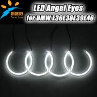 600 Lumens 126 SMD High Brightness Headlight LED Angel Eyes Ring for BMW E36 E38 E39 E46