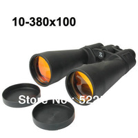 High magnification 10-380x 100mm Binoculars for Backpacking / Hiking Telescope