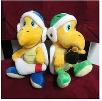 Super Mario Bros Brothers Mario Hammer + Boomerang Bro Koopa Troopa Action Doll