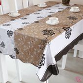 beautiful  table  cloth,  freeshipping    ,home  made , for party  ,banquet,  hot   sale