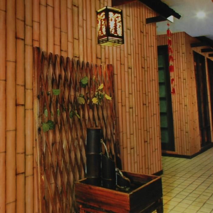 Achetez en gros bamboo pattern wallpaper en ligne des grossistes bamboo pat - Papier peint motif bambou ...
