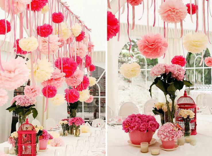 57Цветы из бумаги на шторы