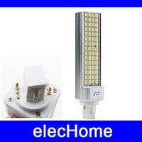 15W 5050 LED Light 60 leds LED Corn Bulb for home Lamp G24 E27 1150LM White Warm AC 210-240V High Power Free Shipping