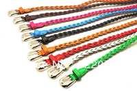 Ms. braided belt thin belt female thin female models Korean wild decoration thin belt K103 free shipping