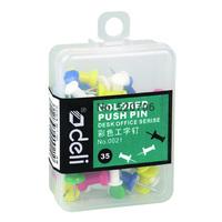 Hot new free shipping fashion brand school office Lackadaisical 0021 multicolour pins multicolour pins pushpin plastic