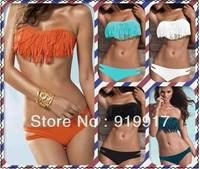 Bikini female tassel Bikini Bikini swimwear Bikini western swimsuit new fashion