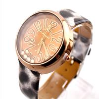 Hot-selling ! ladies watch fashion elegant leopard print strap watch fashion plaid inveted sexy lady