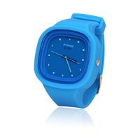 Free shipping/Quartz watch/Black, yellow, blue, white, green, red/ water-proof watch/Children watch/Fashion watches