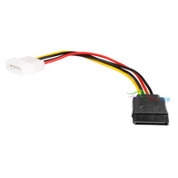 100 pcs 4-Pin IDE to Serial ATA SATA Power Adapter Cable 4PIN extenders